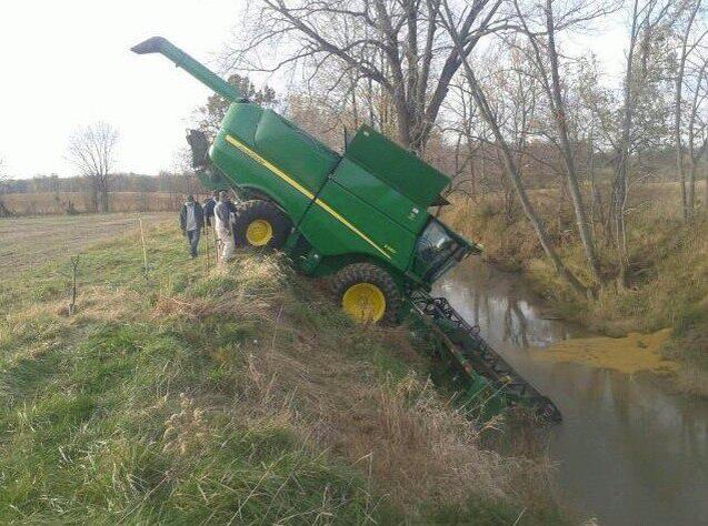 Nothing runs like a Deere... Or